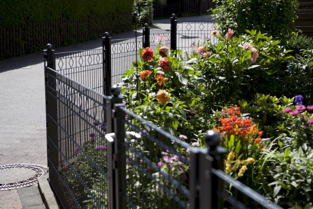 Mein Haus, mein Gartenzaun
