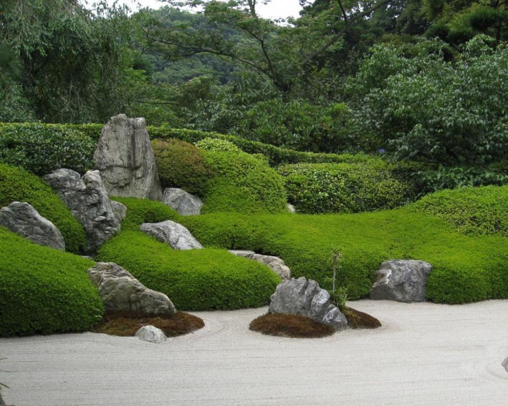Japanischen Garten anlegen: Traum aus Naturstein, Kies und ...