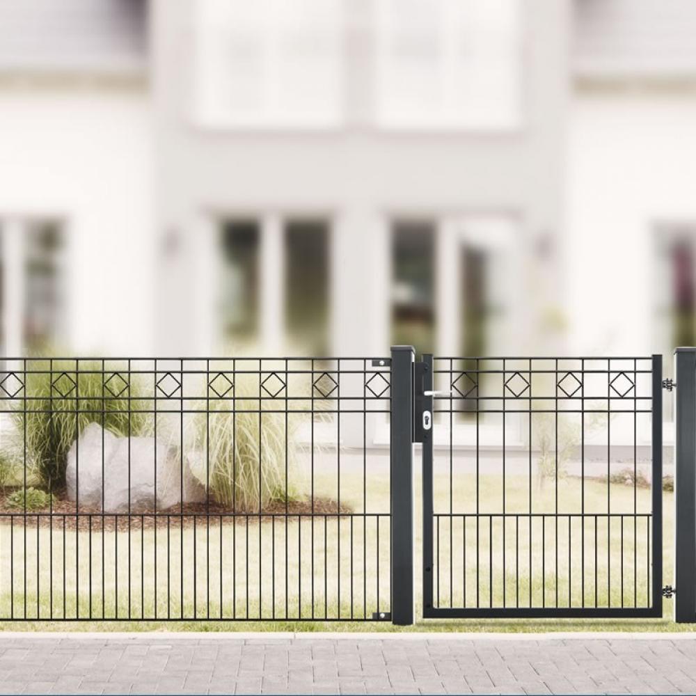 Komfortabel: Stilvolle Gartenzäune bei KSV im Online Shop kaufen!