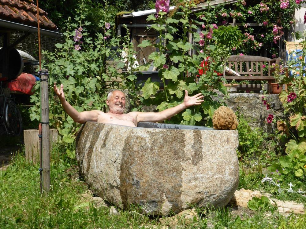Meine persönliche (Garten)Zeit: Tiefe Entspannung durch Wasserspiele …
