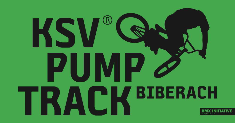 Pumptrack in Biberach – gesponsert von der KSV Natursteinwelt