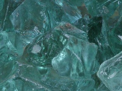 glassteine-gruen