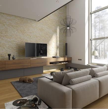 Wandverblender anstelle von Tapete und Co. – der Trend im Innenbereich