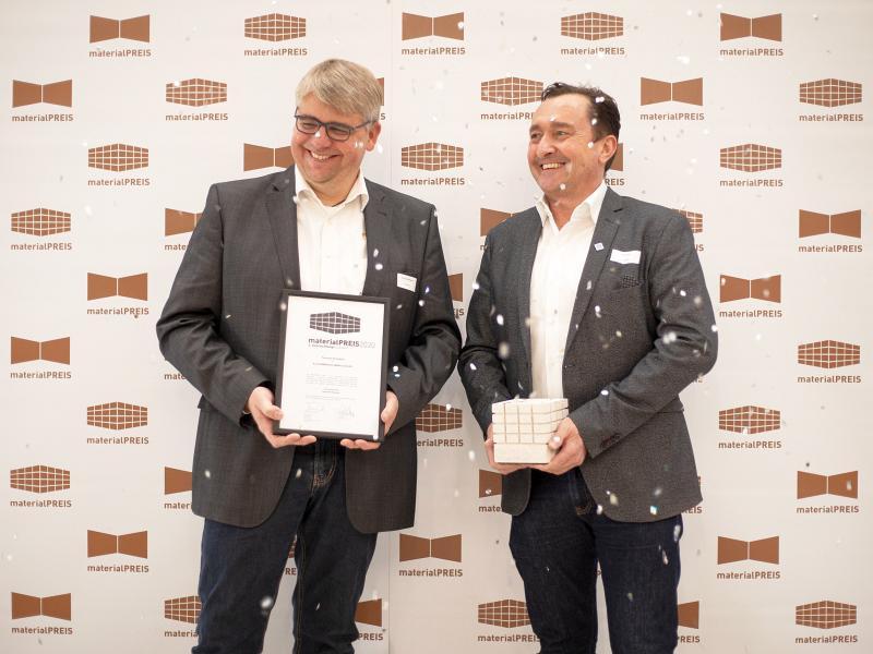 """Materialpreis 2020: zweiter Platz für KSV in der Kategorie """"Klassiker"""""""