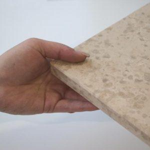 Fensterbank Kalkstein Kanfanar®, beige, 6 Seiten gebürstet