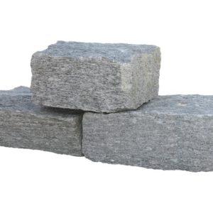 Mauerstein Gneis Luserna, gespalten