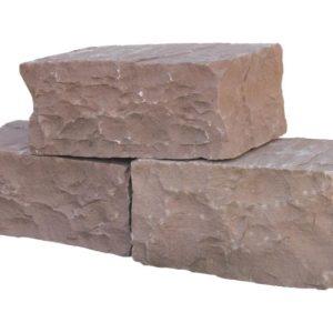 Mauerstein Sandstein Terra Modak, gespalten