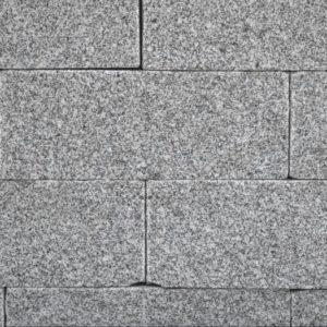Mauerstein Granit Bulvar, gesägt und gespalten