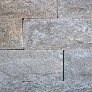Mauerstein Gneis Luserna, gesägt und gespalten, einhäuptig