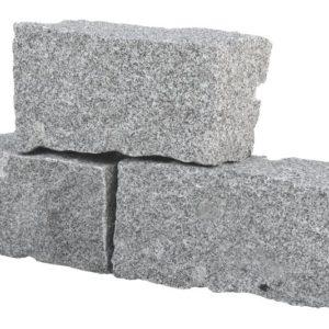 Mauerstein Granit Mittelkorn, gespalten