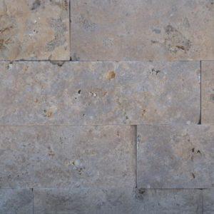 Frankenmauerwerk Dolomit Wachenzell, gesägt und gespalten