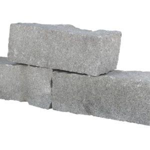 Mauerstein Granit Roriz, gespalten