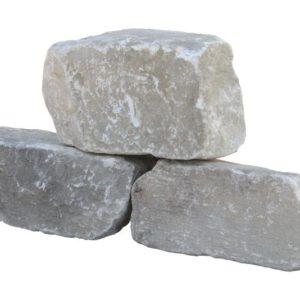 Mauerstein Marmor Rauris, naturbelassen