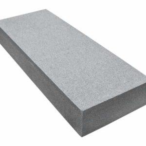 Blockstufe Granit Gala G654, geflammt, anthrazit