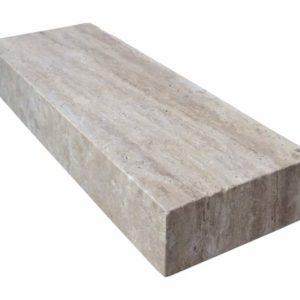Blockstufe Travertin Cavallone®, gebürstet
