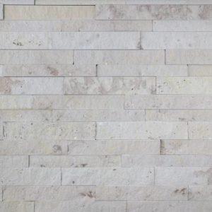Verblender Sandstein Obernkirchen, Ansicht gespalten, Kanten und Rückseite gesägt