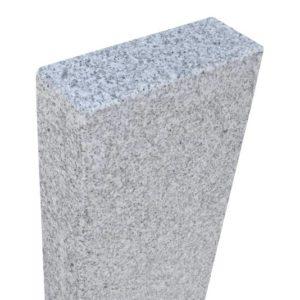 Leistenstein/Palisade Granit Bravo G603DL Feinkorn, gesägt und geflammt, Kanten gefast