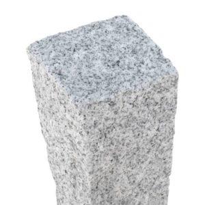 Palisade Trapez Granit Bravo für Bögen, gesägt und gespitzt