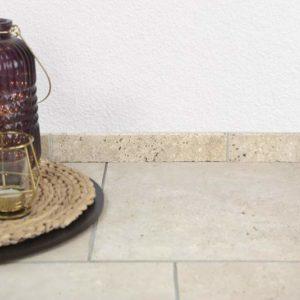Sockelleiste Travertin Classic, gebürstet