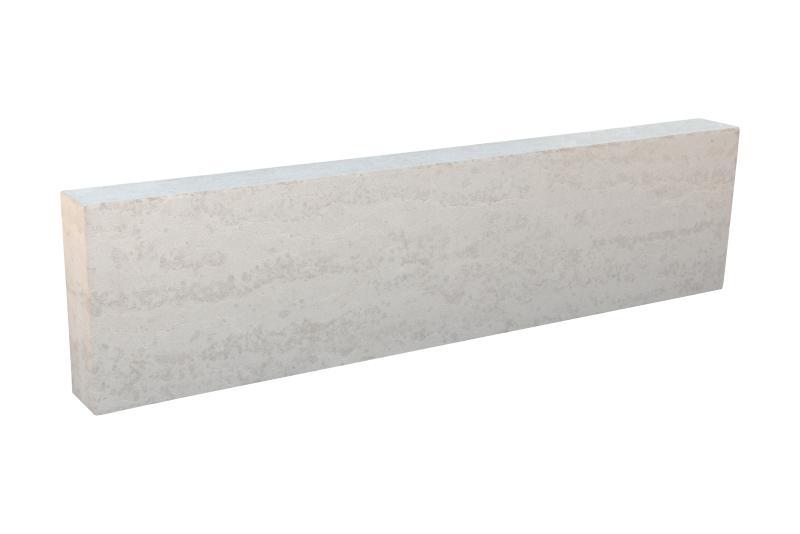 Bordstein Kalkstein Kanfanar®, 1 Schmal- und 1 Breitseite antik