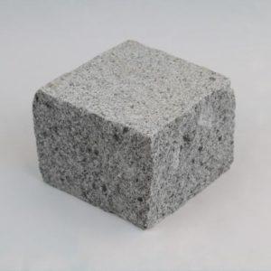 Pflasterstein Granit Granja, Oberfläche kugelgestrahlt, Kanten gespalten